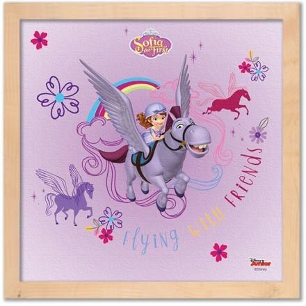 Minimus & Sofia are flying