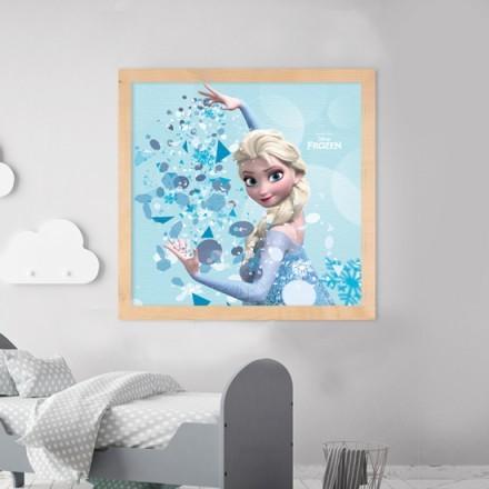 Elsa with snow,!