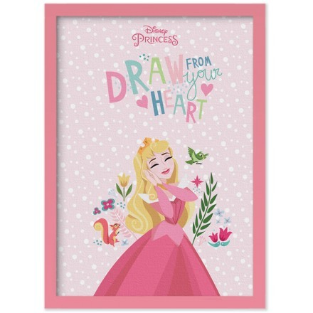 Draw from your heart, Princess!