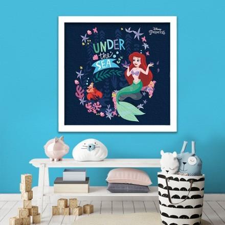 Under the sea, Princess Ariel!