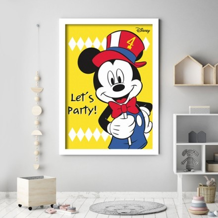 Lets party with Mickey Mouse