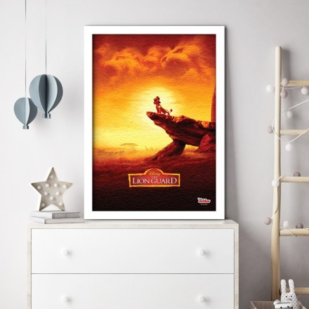 Sunset,The Lion Guard