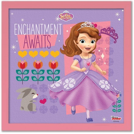 Enchanted awaits, Princess!