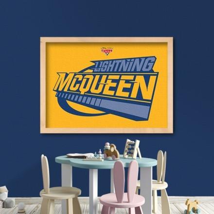 Yellow lightning Mcqueen, Cars