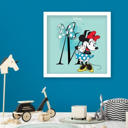 M is for Minnie Mouse!