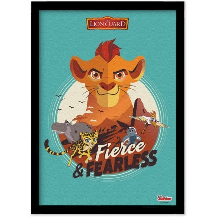 Fierce & Fearless, The Lion Guard
