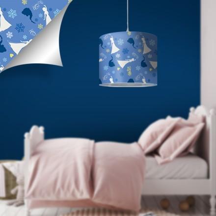 Blue pattern, Frozen