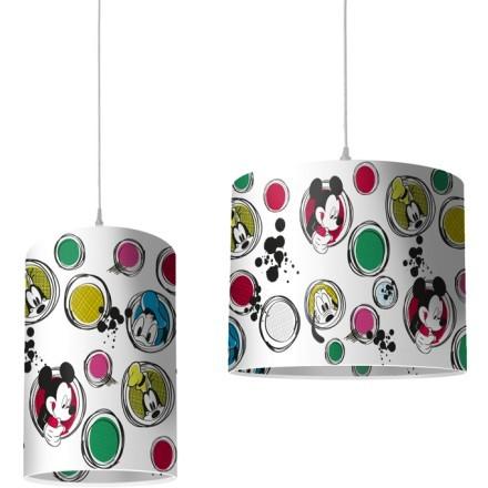Πολύχρωμες φούσκες, Mickey Mouse