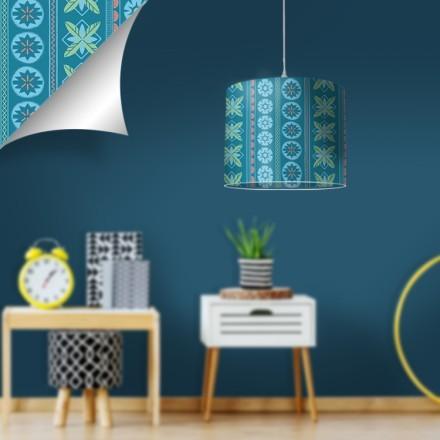 Μπλε μοτίβο από την Moana