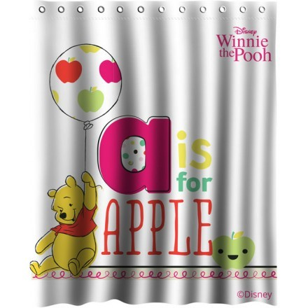 A is for apple, Winnie the Pooh
