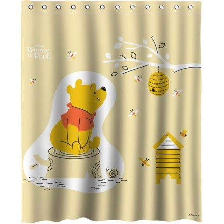 Winnie the Pooh loves honey