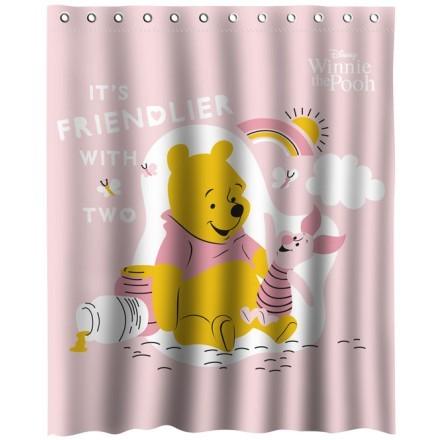 Ο Winnie the Pooh με τον μικρό του φίλο