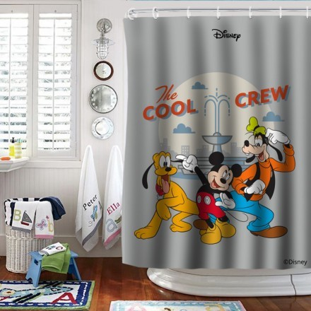 The cool crew,Mickey and his friends