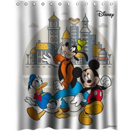 Mickey, Goofy and Donald