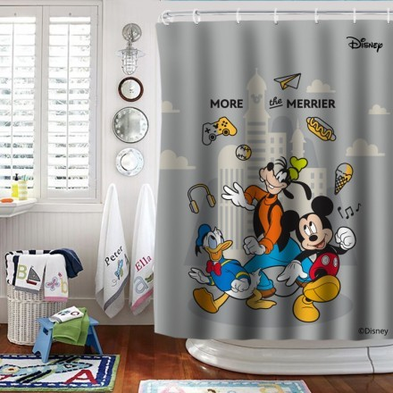 More the merrier, Mickey and his friends