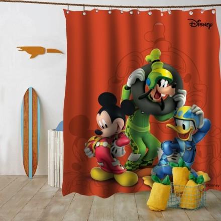 Ο mickey, o Donald και ο Goofy, οδηγοί.