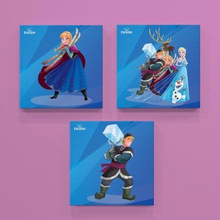 Oι χαρακτήρες του Frozen!
