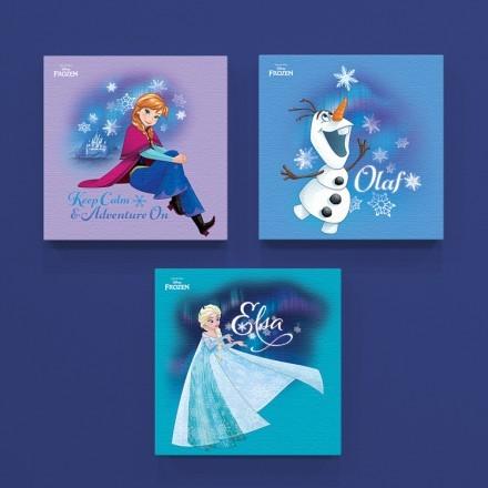 Elsa, Anna & Olaf, Frozen!