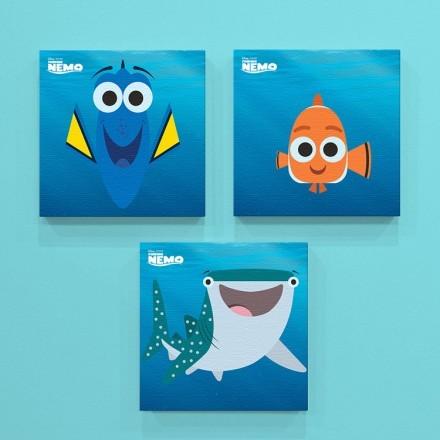 Dory, Nemo and Destiny!