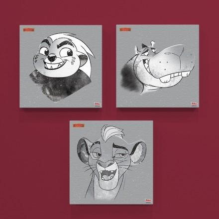 Kion, Bunga and Beshte, Lion Guard!