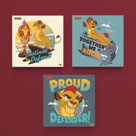 Περήφανος υπερασπιστής, Lion guard!