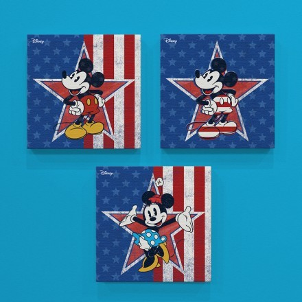 Americano, Mickey & Minnie Mouse!