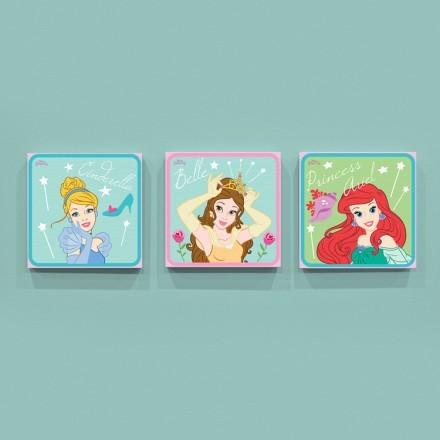 Cinderella, Belle and Ariel