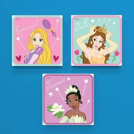 Rapunzel, Belle and Tiana