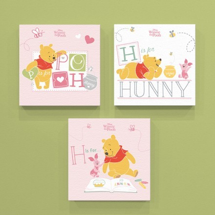H is for hunny, Winnie the Pooh!