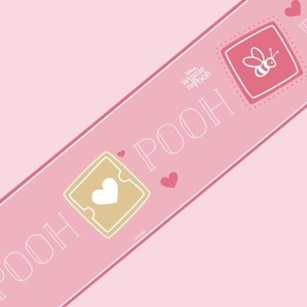 Winnie the Pooh σε ροζ μοτίβο