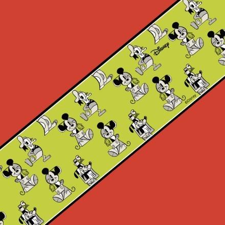 Κίτρινο αφηρημένο μοτίβο, Mickey Mouse