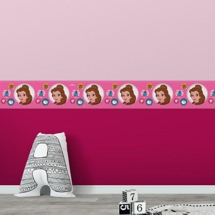 Μοτίβο της Μπέλ σε ρόζ φόντο!