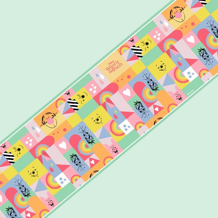 Colourful Pattern, Winnie the Pooh!