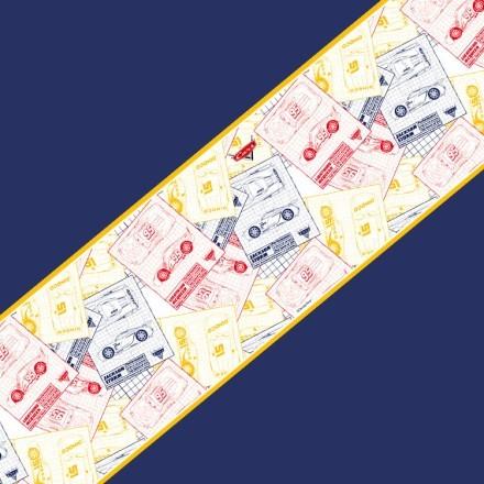 Cars μοτίβο σε φιλμ