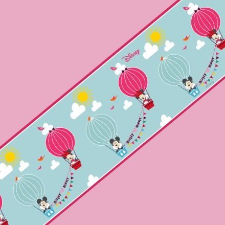 Ο Mickey και η Minnie σε αερόστατο!