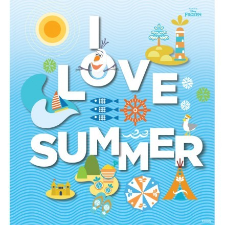 I love summer, Frozen