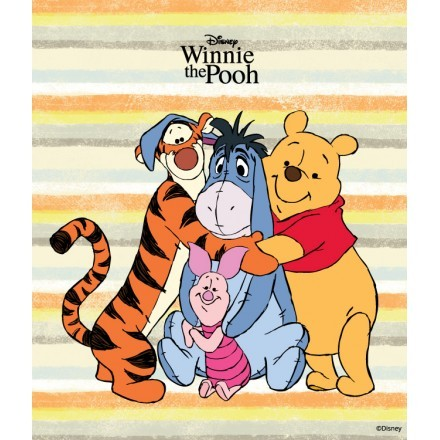 Winnie's hugs with his Friends