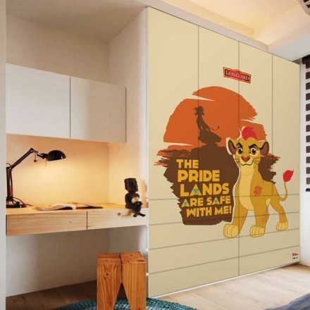 The pride land, The Lion Guard