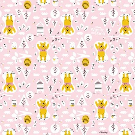 Μοτίβο με τον Winnie the Pooh
