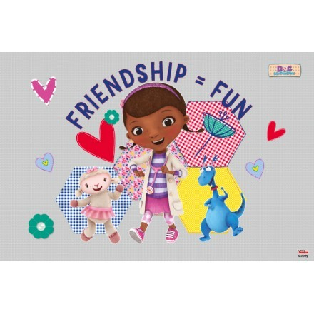 Friendship is fun, Doc McStuffins