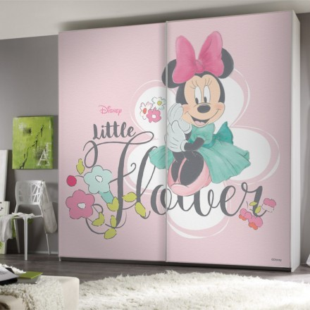 Little Flowers,Minnie Mouse