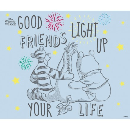 Your Friends light up your life, Winnie The Pooh