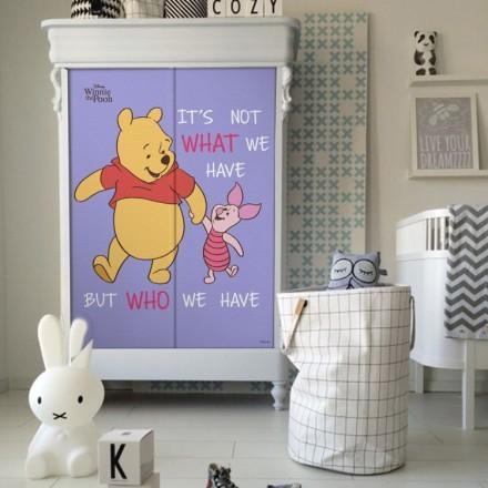 Friends, Winnie The Pooh & Pigglet