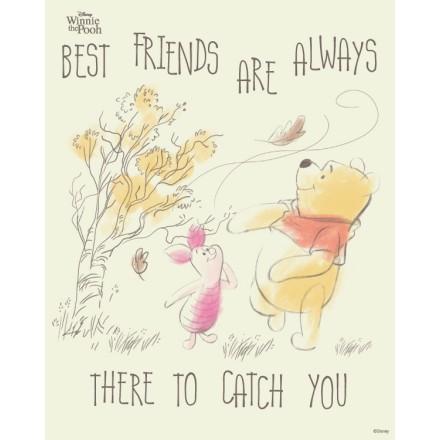 Οι καλύτεροι φίλοι είναι πάντα εκεί για να σε κρατήσου,Winnie The Pooh