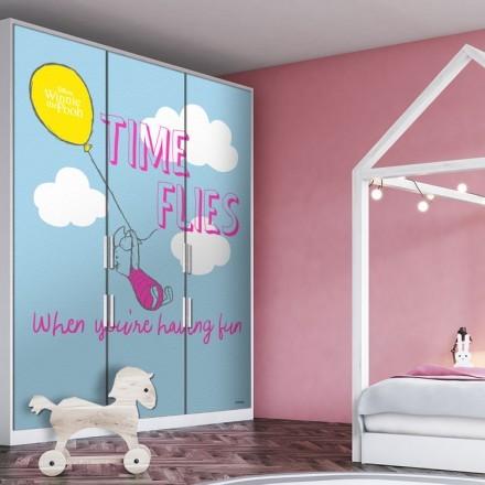 Time flies, Pigglet (Winnie The Pooh)
