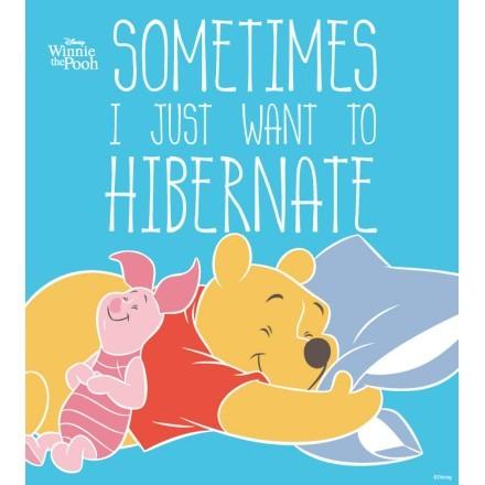 Winnie the Pooh & Pigglet κοιμούνται αγκαλιά