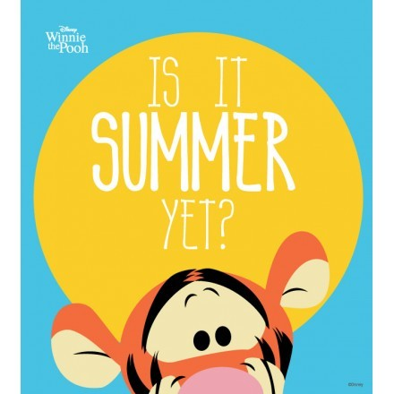 Is it summer yet? Tiger, Winnie the Pooh