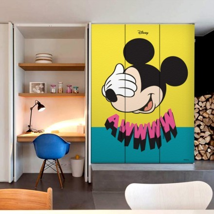 Awwww Mickey Mouse!