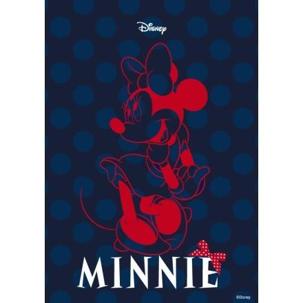 Η Minnie σε μπλε φόντο!