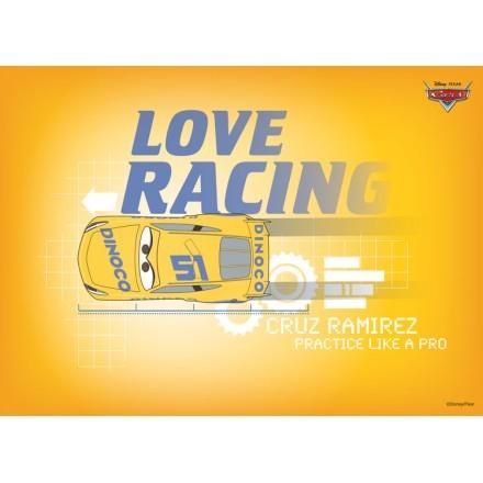Love racing with Cruz Ramirez!